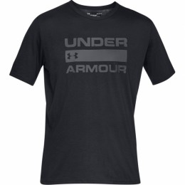 Футболка Under Armour UA TEAM ISSUE WORDMARK SS Black / / Rhino Gray оптом