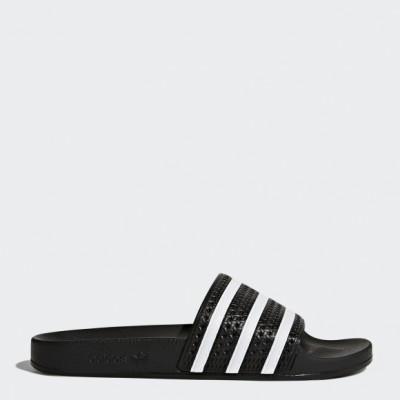 Пантолеты Adidas ADILETTE CBLACK/WHITE/CBLACK оптом