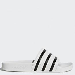 Пантолеты Adidas ADILETTE WHITE/CBLACK/WHITE оптом