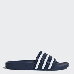 Пантолеты Adidas ADILETTE ADIBLU/WHITE/ADIBLU оптом