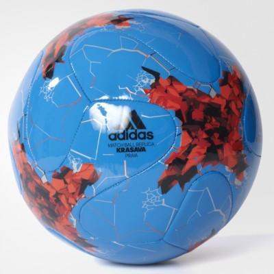 Футбольный мяч (подарочный) Adidas CONFED PRAIA WHITE/BRIRED/RED/BLA оптом