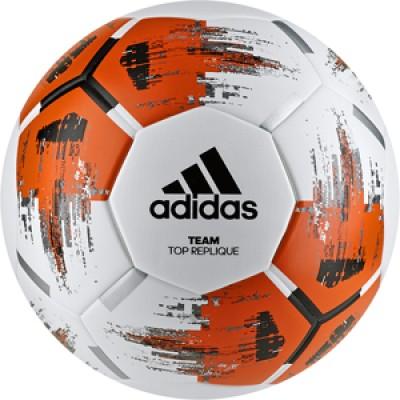 Мяч Adidas TEAM TopRepliqu WHITE/ORANGE/BLACK/I оптом