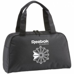 Сумка с принтом взр. Reebok CL Core Duffle BLACK оптом