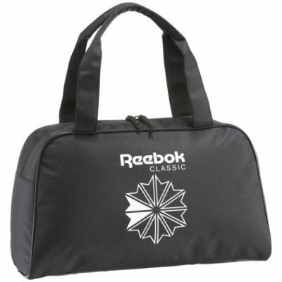 Сумка с принтом взр. Reebok CL Core Duffle BLACK оптом