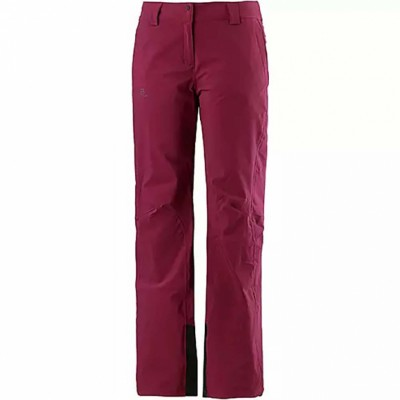 Брюки Salomon ICEMANIA PANT W Beet Red оптом