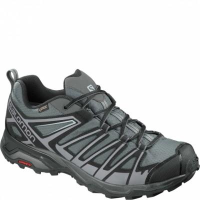 Ботинки Salomon SHOES X ULTRA 3 PRIME GTX® Magnet/Bk/Qui оптом