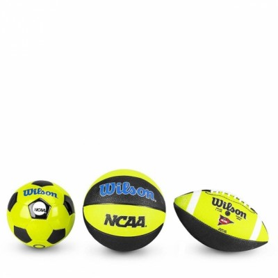 Набор мячей Wilson NCAA TRIPLE THREAT KIT NGBL оптом